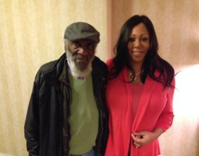 With the legendary Dick Gregory in San Francisco
