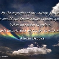 mysteries quote