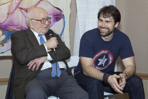 Actor and activist Ed Asner weighs in on the discussion. Photo credit - Hayley Fisk Photo ©