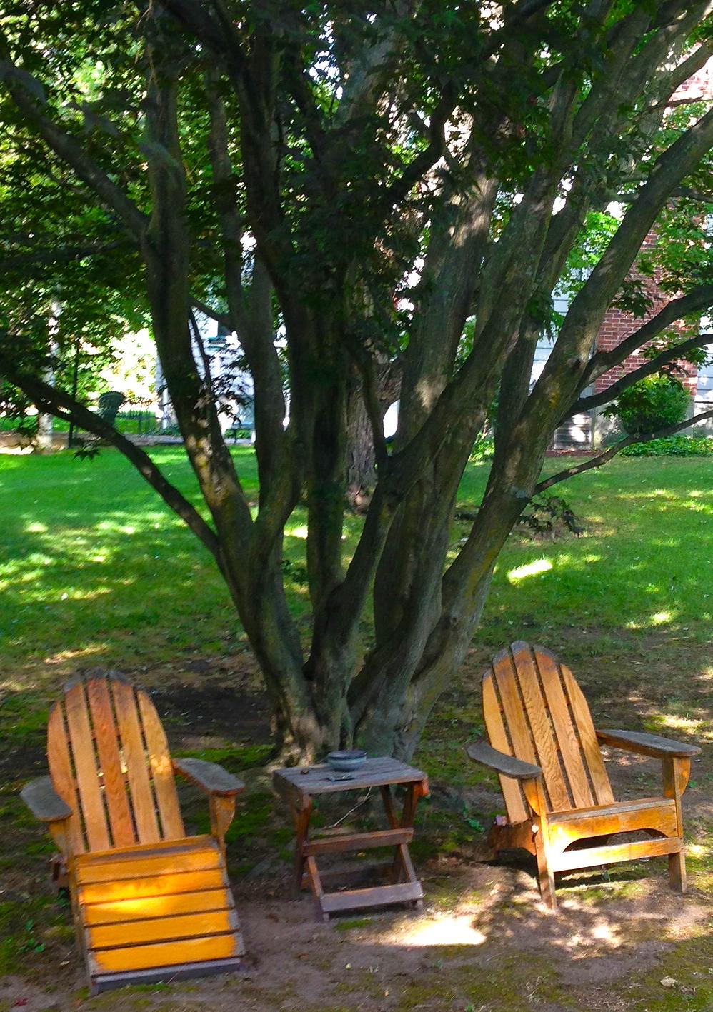 Manifesting Adirondack Chairs