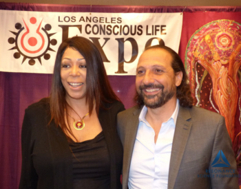 with Nassim Haramein in Los Angeles