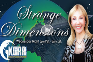 Talking premonitions on Strange Dimensions Radio