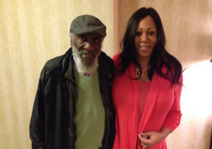 Dick Gregory and Higher Journeys Radio's Alexis Brooks