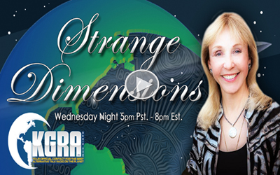 "Alexis joins host Rosemary Ellen Guiley for Strange Dimensions on KGRA Radio to discuss all of the ""strange"" and unusual activity happening on the planet right now, including the Las Vegas and New York City attacks and how precognition, premonition and number synchronicity factors in! (November 2017)"