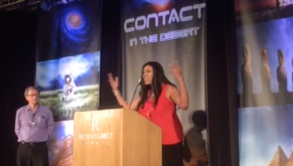 Introducing UFO researcher Grant Cameron at Contact in the Desert 2018